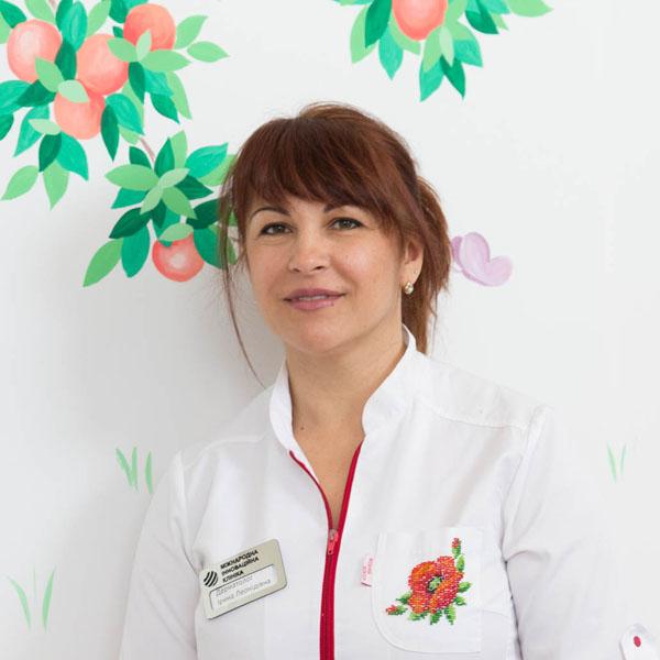 дерматолог МИК Заболотняя Ирина Леонидовна