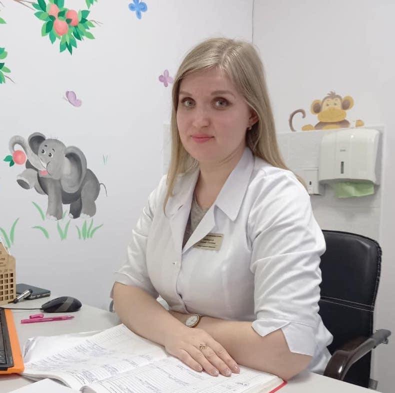 дитячий невролог Ктиторова Євгенія